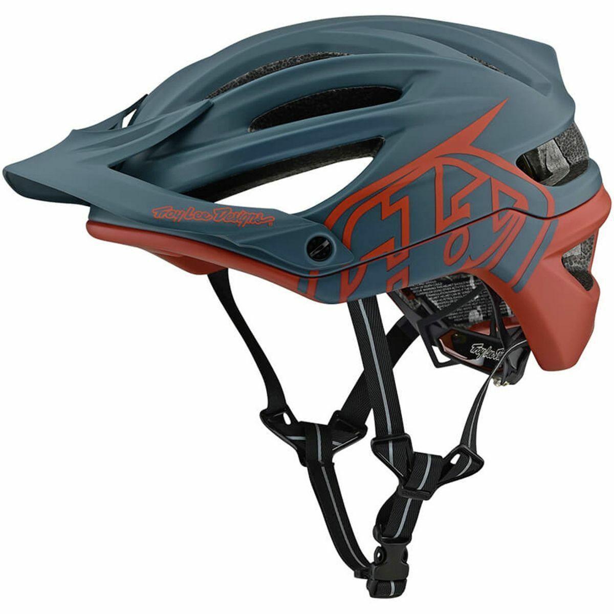 Troy Lee Designs A2 Decoy Helmet MIPS Air Force bluClay XL2XL