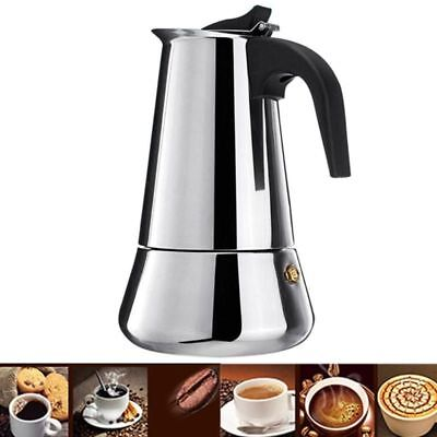 100ml Italian Mokka Espresso Stove Coffee Maker Pot Stainless Steel Home Kettle   eBay