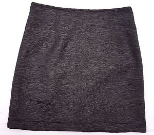 EX-CON-Minkpink-Size-S-Skirt-Black-Pencil-Mini-Pattern-Texture-Event-Office-Chic