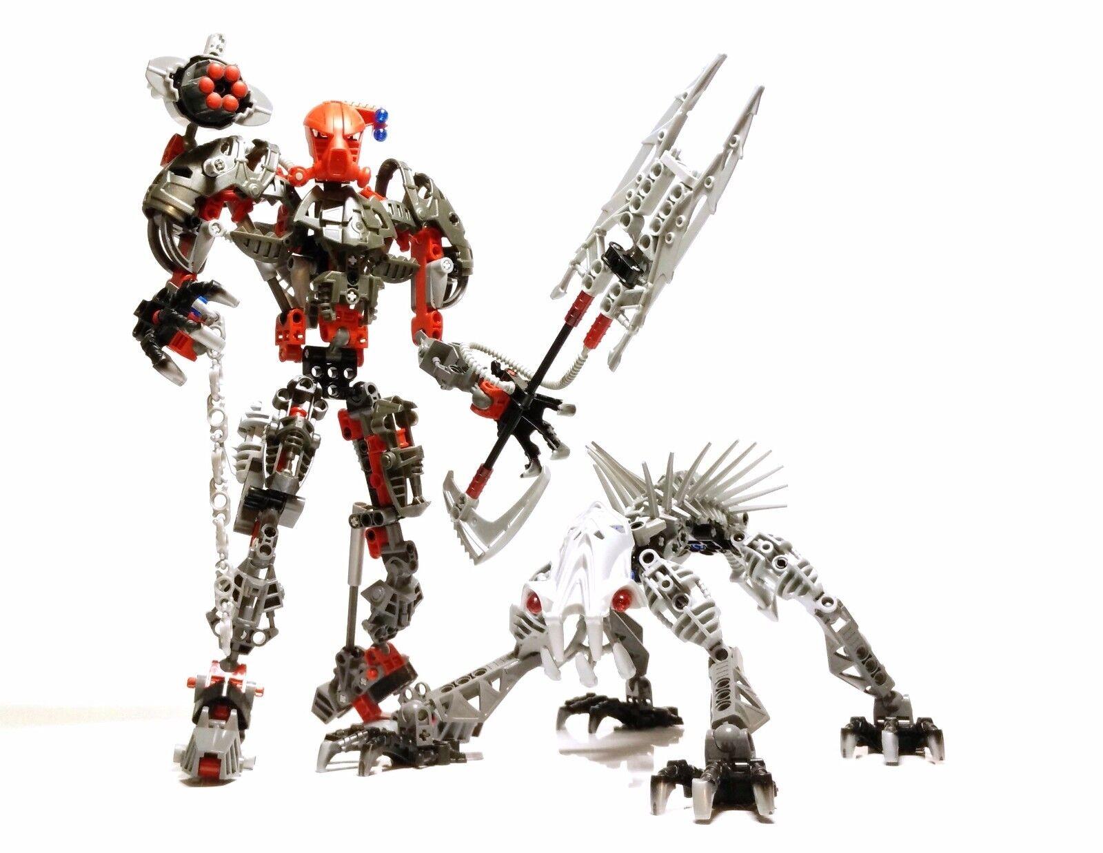 LEGO LEGO LEGO Bionicle Warriors 8924  Maxilos and Spinax 8b1462