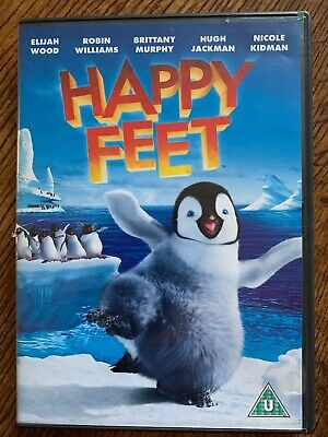 Happy Feet Dvd 2006 Animated Dancing Penguin Family Movie 7321902151670 Ebay