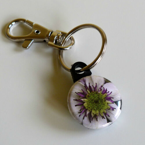 Choose Key rings Key Chain Gift Bag Charm Purse Flower