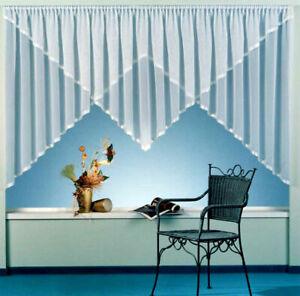 Gardine-Store-Kuvertstore-m-Satinband-weiss-Feinsable-Webgardine-Vorhang-Typ90