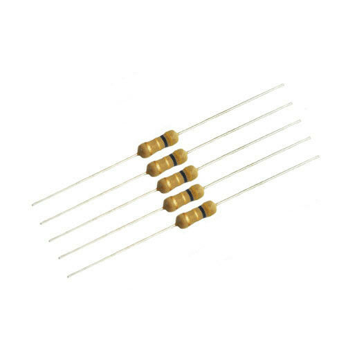5 pieces 3 ohm 1//2 Watt Carbon Film Resistors