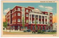 MINT Community Inn, Hershey PA, vintage cars, Drug Store Sign, c.1940