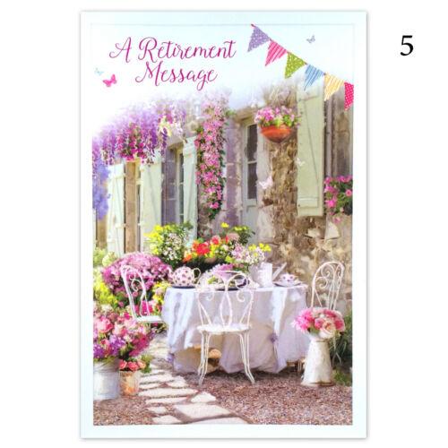 Retraite CARTE ~ Félicitations pour votre retraite Carte de vœux Hommes ou Femmes