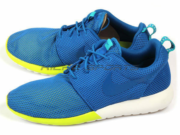 Nike Rosherun Military Blue/Turbo Green-White Sportstyle Running 2018 511881-400 Comfortable and good-looking