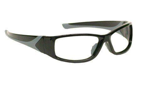 Laser Safety Eyewear Co2//Excimer Filter In Black Plastic Wrap-Around Frame