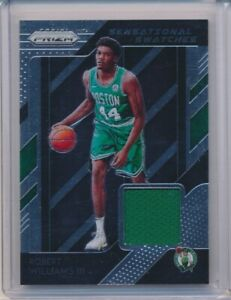 cheaper 13a2e 89074 Details about 2018-19 18-19 PANINI PRIZM ROBERT WILLIAMS GAME USED JERSEY  RC ROOKIE CELTICS