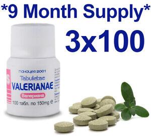 Valeriana-Tabletas-Organico-100-Natural-Herbal-ESTRES-DEPRESIoN-ANSIEDAD-para-dormir