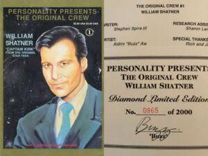 Star-Trek-Original-Crew-1-Signed-ed-Limited-Edition-Buzz-William-Shatner-HTF-NM