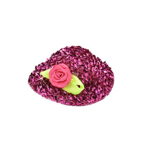"2x Fashion Sequin Doll Hat for 11/"" s Dolls Color Random CJG"