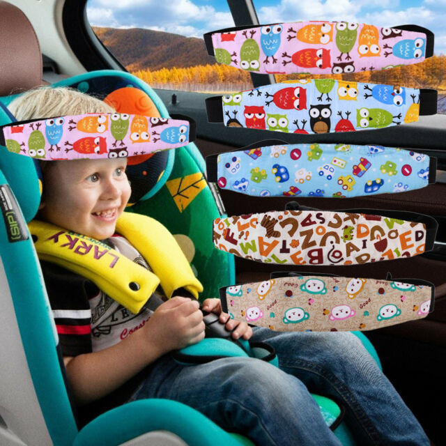 Car Seat Headrest Kids Children Travel Sleeping Head Support Pillow Adjustable