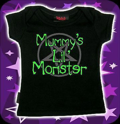 Darkside BABY T-Shirt Tee Goth Punk Alternative Cute Funny 0-18 MONTHS Toddler