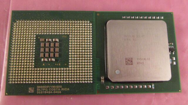 Intel Xeon CPU Processor 3.2GHz 2MB Cache 533MHz Socket 604 SL7AE