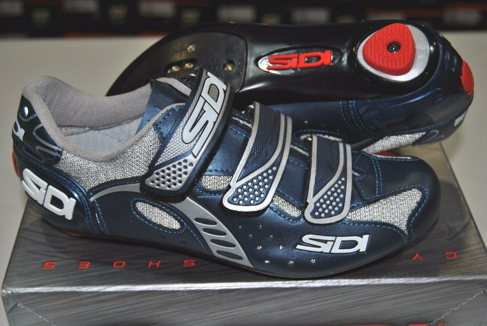 SHOES ROAD SIDI ZETA MIDNIGHT blueE SHOES road sidi Zeta MIDNIGHT blueE