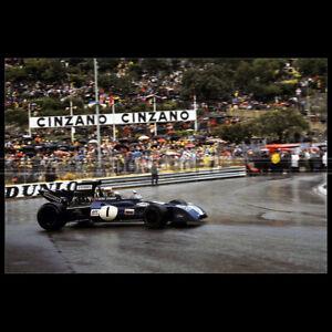 Photo A.008907 JACKY ICKX PILOTE GP F1 1972 FORMULE 1 GRAND PRIX