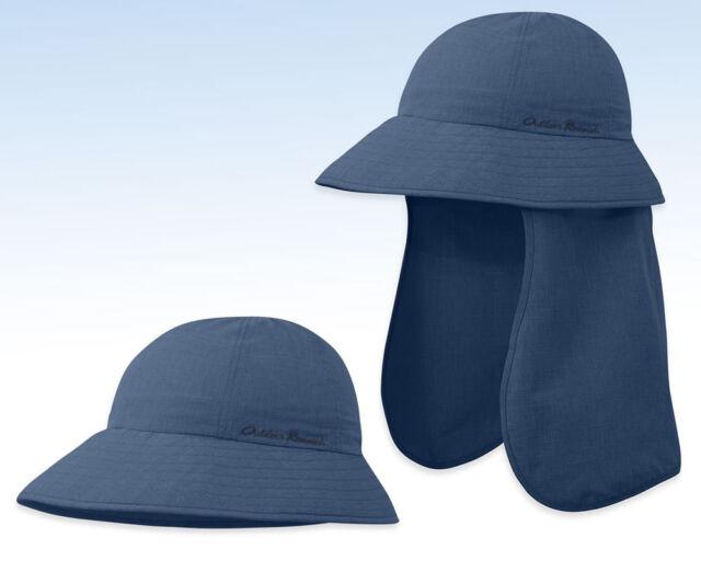 e5499d657b1 OUTDOOR RESEARCH Women s Blush Bucket SUN HAT w Snap-On Cape - DUSK - L
