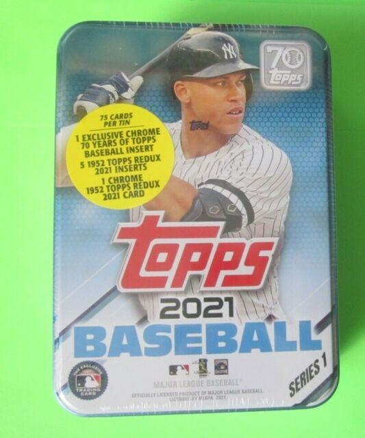 2021 Topps Baseball Series 1 Collectible Tin  Sealed- Aaron Judge