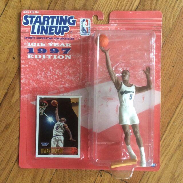 Starting Lineup NBA 1997 Ray Allen Milwaukee Bucks by Kenner Upper Deck #34