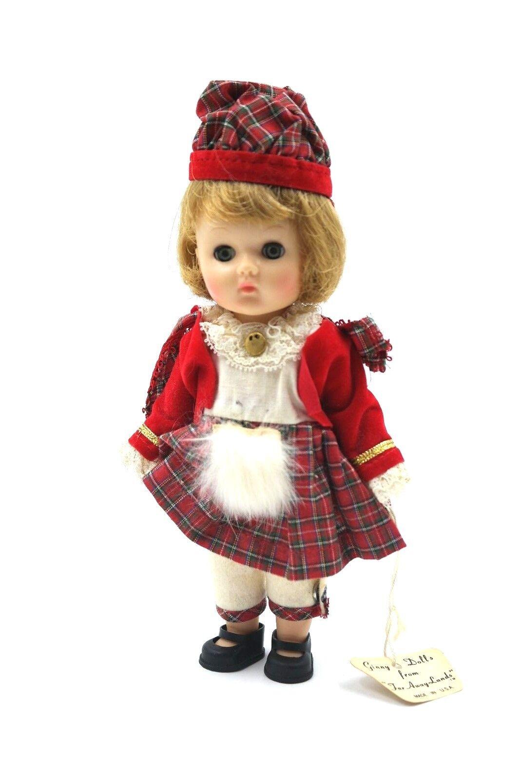 Ginny Vogue Doll 1960's Scotland Far-Away Lands  504