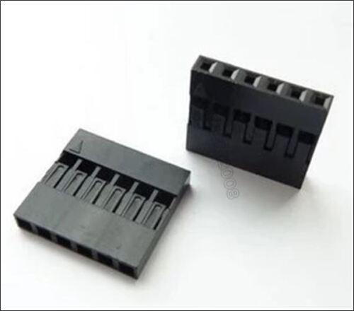 100 Stücke 6 P Dupont Jumper Draht Kabel Gehäuse Buchse Pin Stecker 2.54MM Pi fc