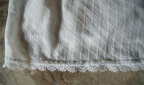 Change of Scandinavia Sheer White Diamond Patterned Shorts