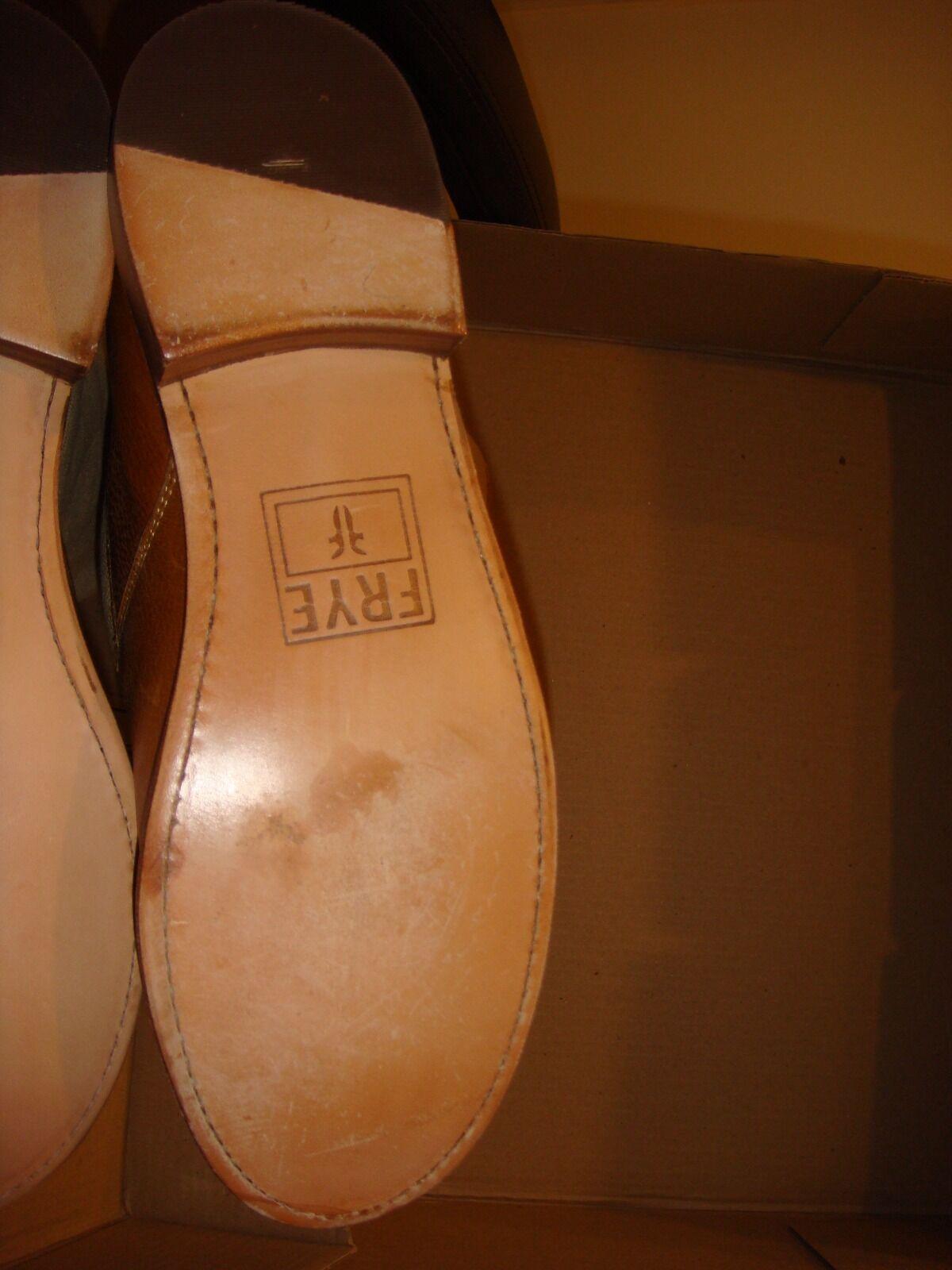 480 Victoria's Secret chaussure chaussure chaussure botte FRYE cuir marron en toile Taille 9 hautes NEUF e589ab