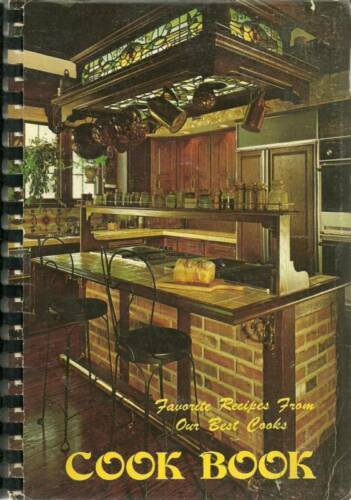 PASADENA TX 1979 VINTAGE FAVORITE RECIPES COOK BOOK TRINITY BAPTIST CHURCH