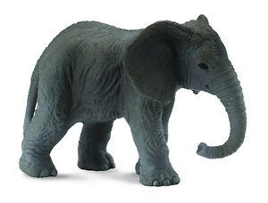 CollectA-88026-African-Elephant-Calf-Toy-Wild-Baby-Animal-Model-Replica-NIP