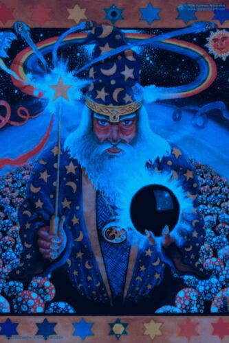 POSTER UV Blacklight Fluorescent Glow-In-The-Dark Psychedelic Psy Goa Trance Art