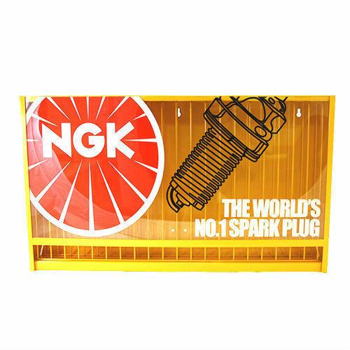 WORKSHOPS NGK 320 SPARK PLUG STAND DISPLAY RACK CABINET DISPENSER FOR GARAGES