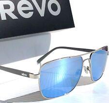 76c3ef126e1 REVO PEAK Chrome Aviator Squared POLARIZED Blue water Sunglass 5022 03 BL  -NEW! REVO PEAK Chrome Aviator Squared POLARIZED Blue water Sunglass 5022  03 BL