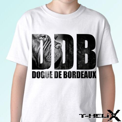 dog t shirt top tee design mens womens kids baby sizes DDB Dogue De Bordeaux