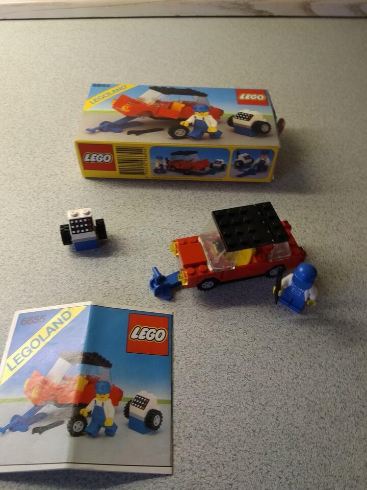 Lego andet, Legoland 6655, 6680 og 6689