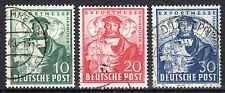 Germany / Allied zone - 1949 Export fair Hanover - Mi. 103-05 FU