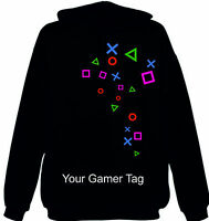 Ps Symbols Hoodie Console Gaming Jumper