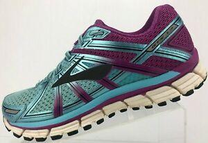 844932700b5c1 Brooks Adrenaline GTS 17 Running Shoes Blue Purple Training Sneaker ...
