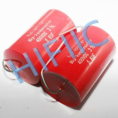 2PCS Audiophiler MKP 5.6UF 400V 565 Coupling capacitors
