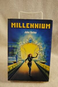Millennium-John-Varley-1983-1st-Edition-BCHC-DC-Science-Fiction-Book