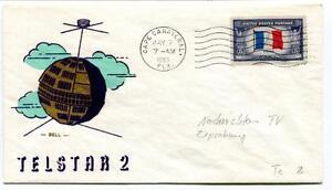 1963 Telstar 2 Cape Canaveral United States Postage Space Nasa Usa Avec Une RéPutation De Longue Date