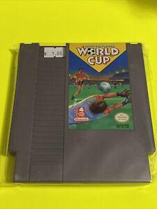 🔥100% WORKING NINTENDO NES Game Cartridge SUPER FUN 4-PLAYER🔥WORLD CUP SOCCER