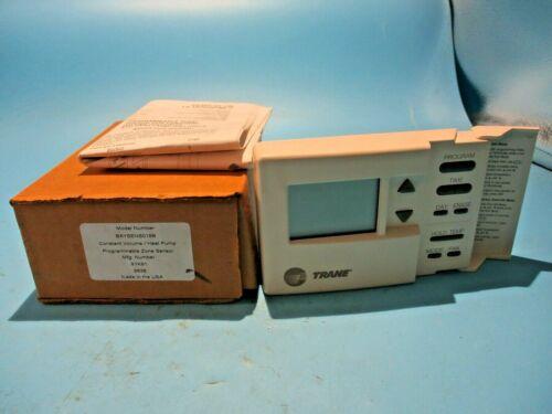 NEW TRANE BAYSENS019B CV//HP PROGRAMMABLE ZONE SENSOR THERMOSTAT