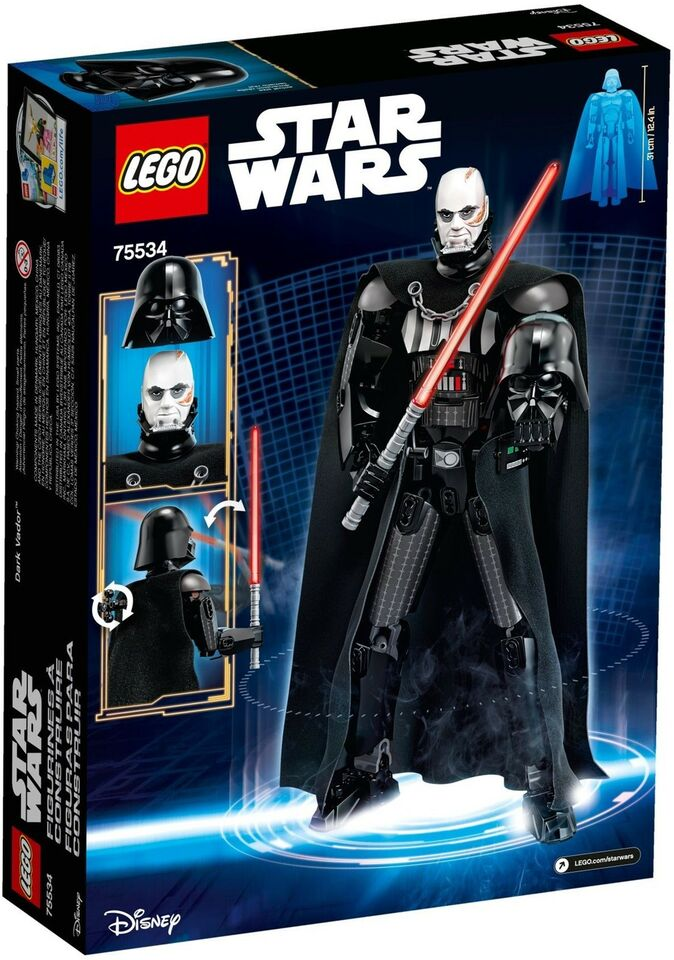 Lego Star Wars, 75534 Darth Vader UÅBNET