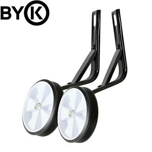 Byk E 450 Kids Bike Training Wheels Set Black White Ebay