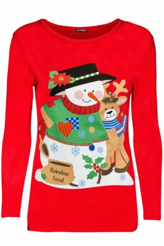 Bambine Natale Natale Manica Lunga con Cintura Costume Da Babbo Natale Costume T Shirt Top