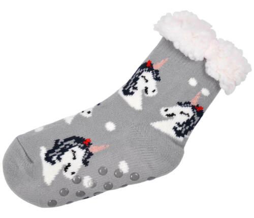 Hüttensocken Kuschelsocken Norweger Weihnachtssocken Einhornsocken Kinder Socken