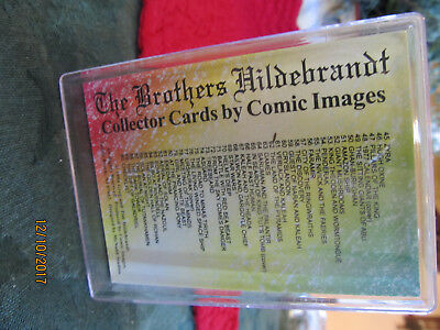 Collectibles Non-sport Trading Cards Persevering Brothers Hildebrandt Collector Cards By Comic Images 90 Fantasy Art Cards Set Handsome Appearance