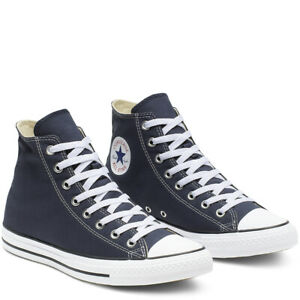 CONVERSE-Chuck-Taylor-All-Star-Classic-High-Top-Scarpe-Sneakers-NAVY-M9622C