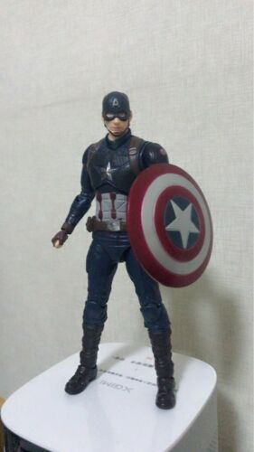 S.H.Figuarts SHF Avengers End Game Captain America Action Figure New in Box